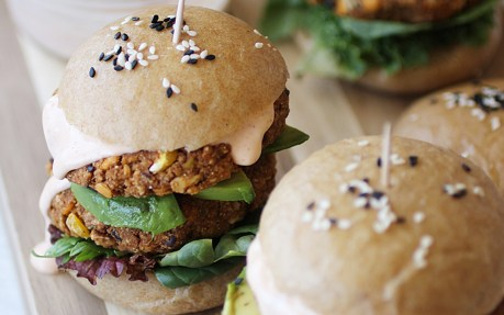 Sweet Potato Red Lentil Burgers 2