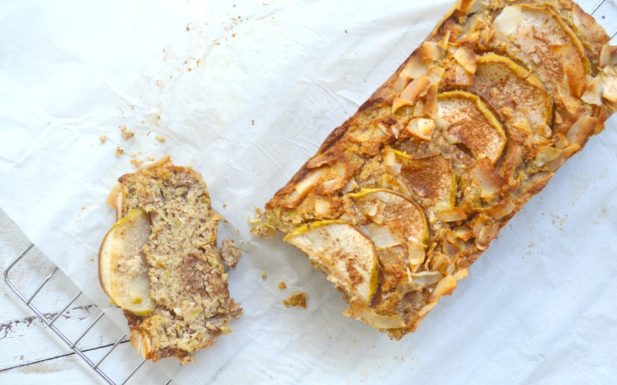 Apple Cinnamon Coconut Loaf 2