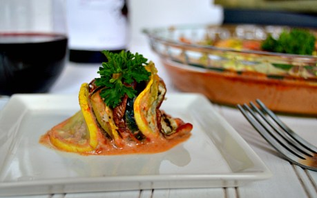 Ratatouille With Cashew Cheese 1