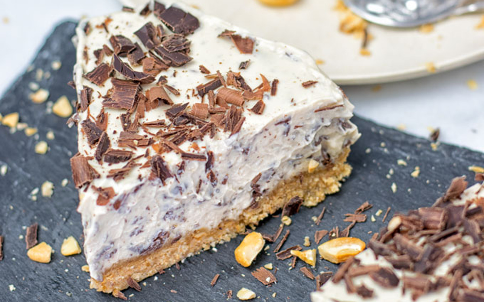 Stracciatella Cream Pie