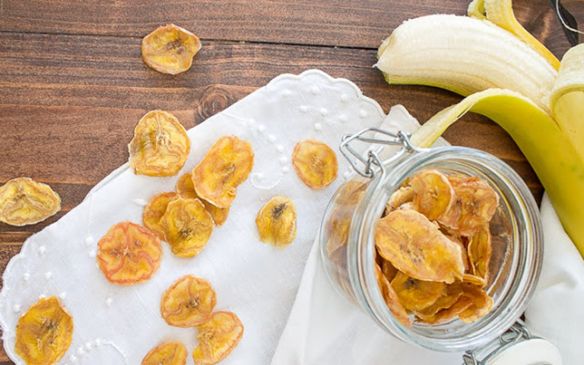 Sugar-Free Banana Chips