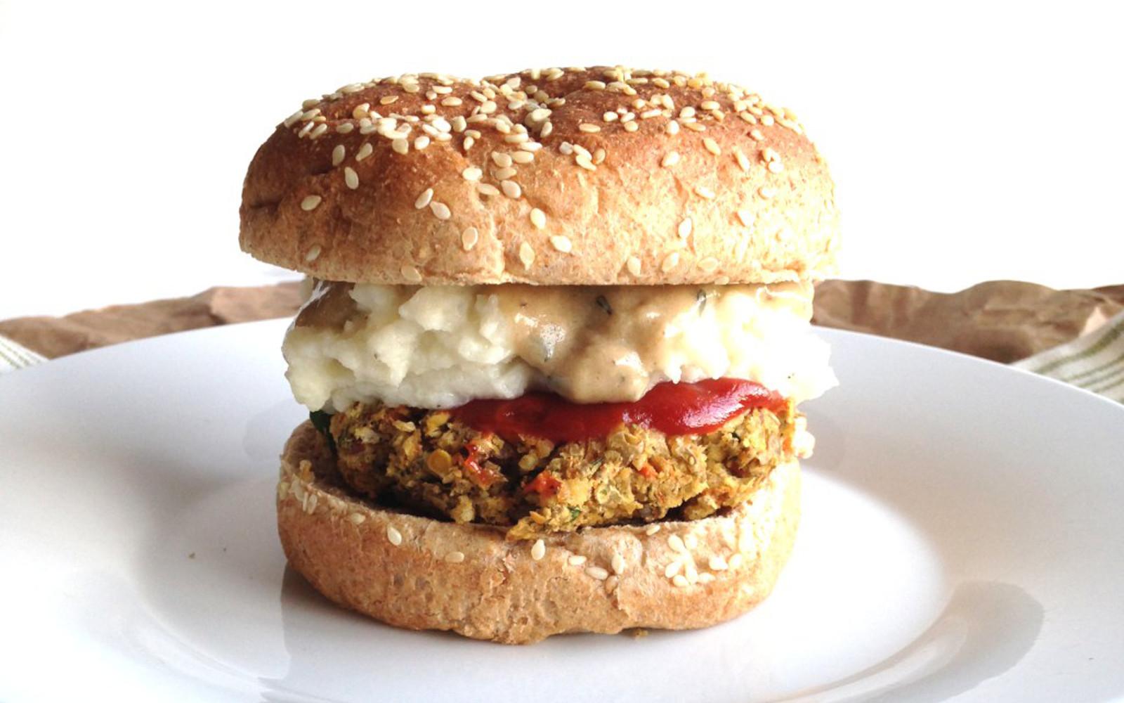 meatloaf veggie burger