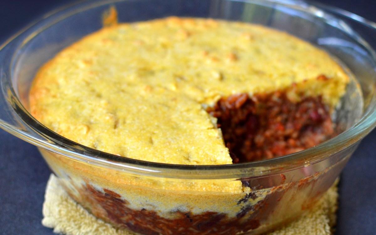 Chili Cornbread Casserole