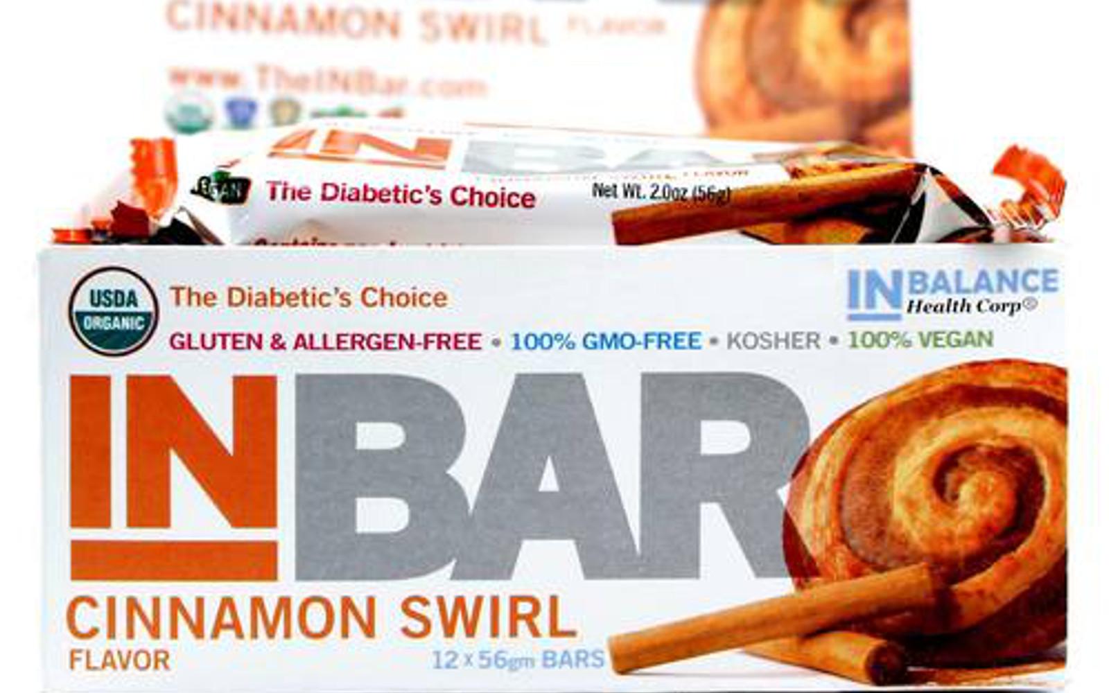 Ingredients in meta health bars - Inbar Cinnamon Swirl Bars