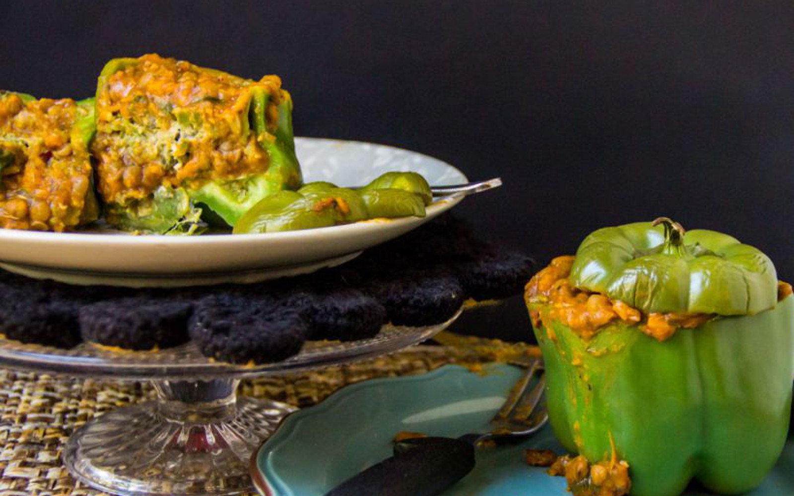 tagine stuffed peppers