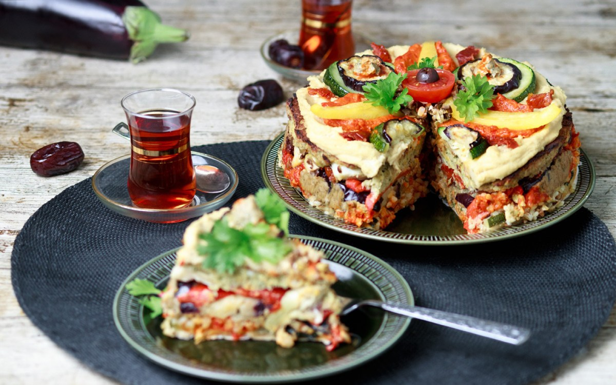Meze Layer Cake