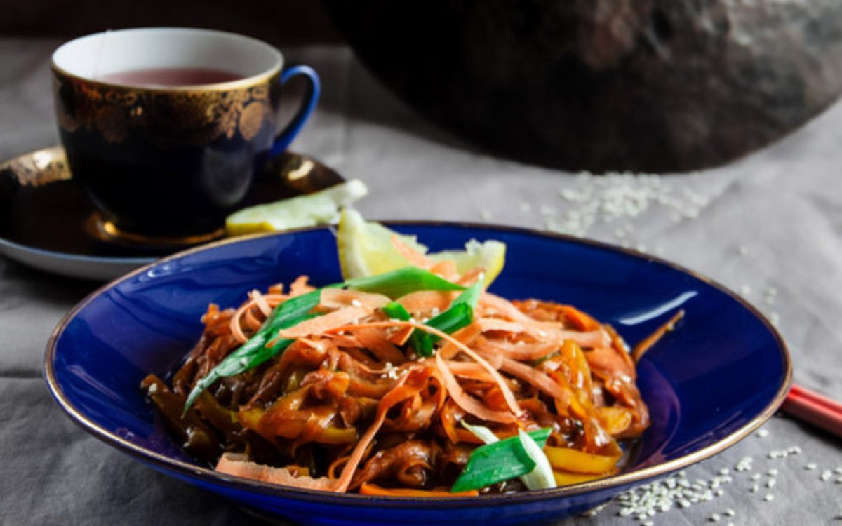 Szechuan Spiced Carrot Fettucine 4