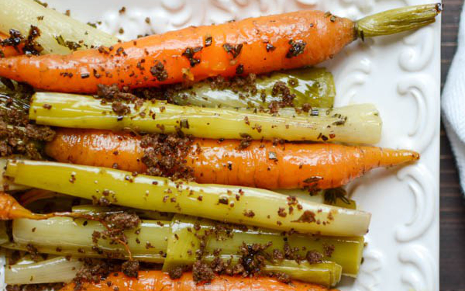 Braised Leeks and Carrots With Toasted Crumb 2