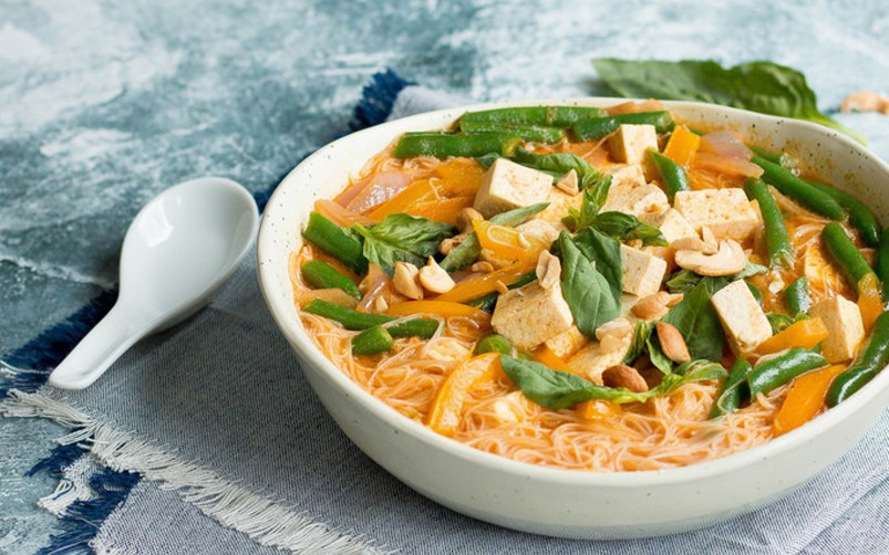 Red Curry Noodle Soup 3