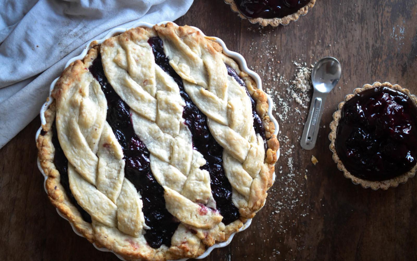 Black Bottom Cherry Pie