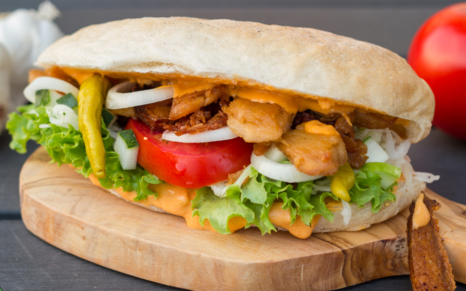 Seitan Doner Kebab