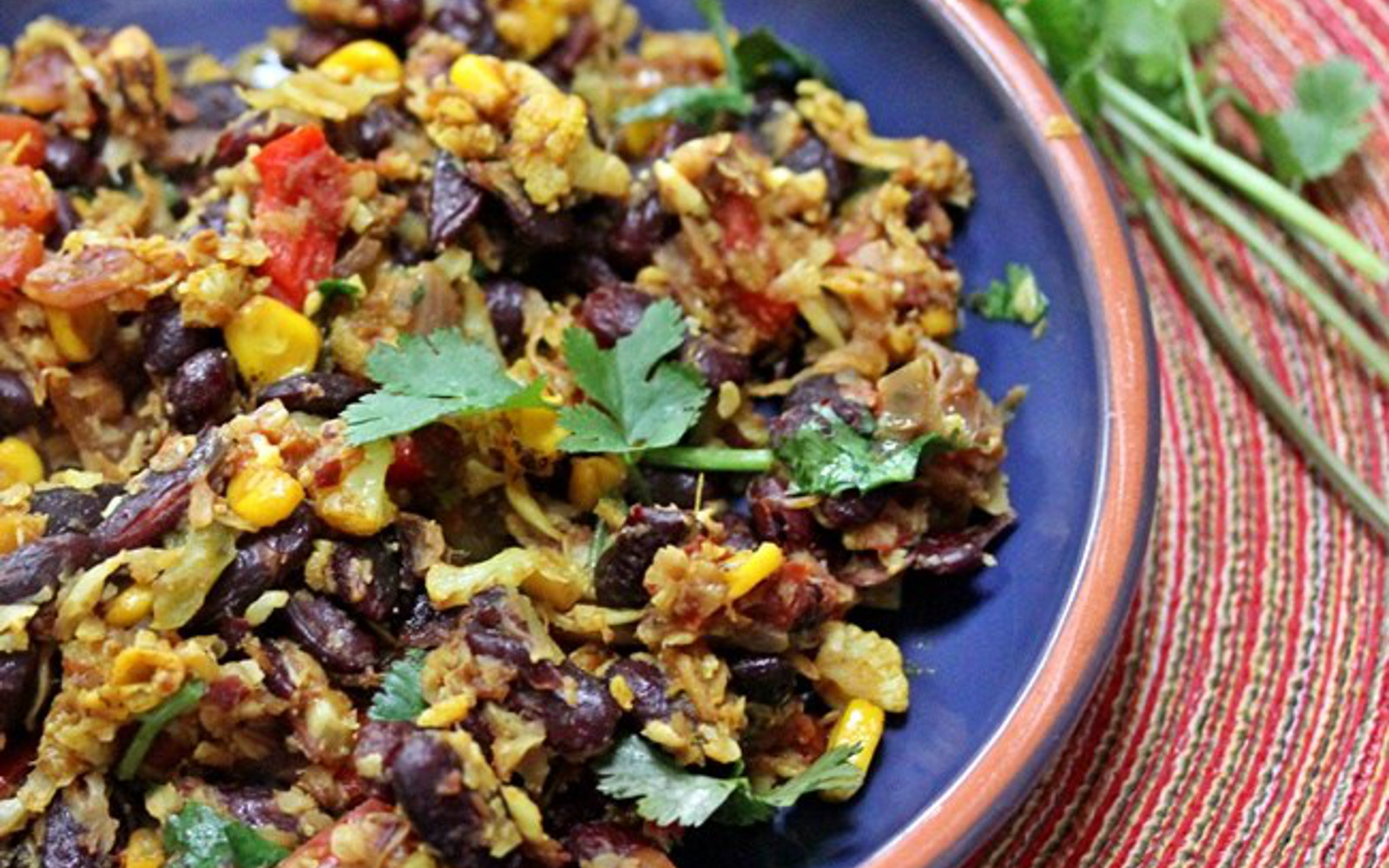 Rajma Pulao with Cauliflower Rice
