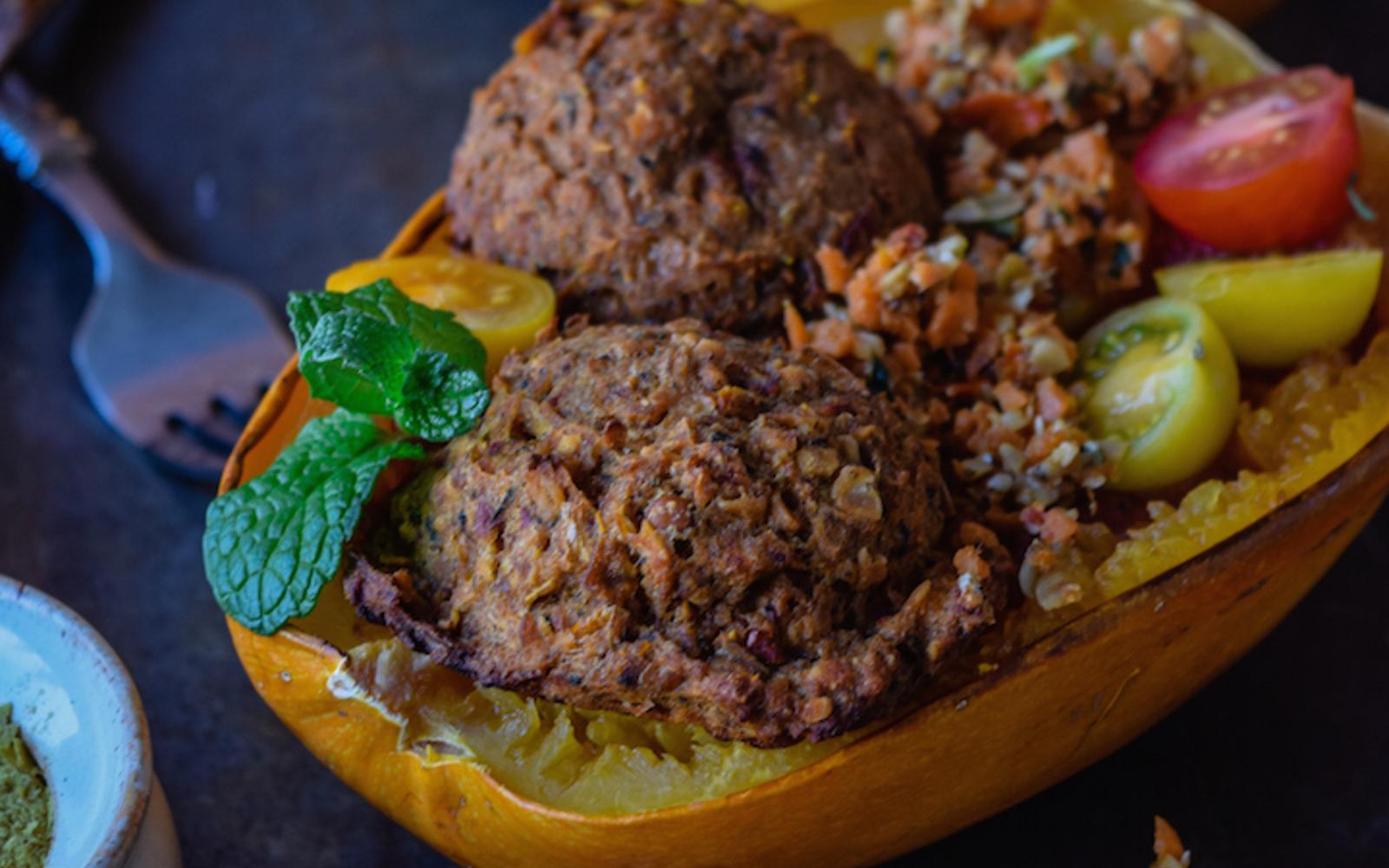 Easy Potato Lentil Meatballs b