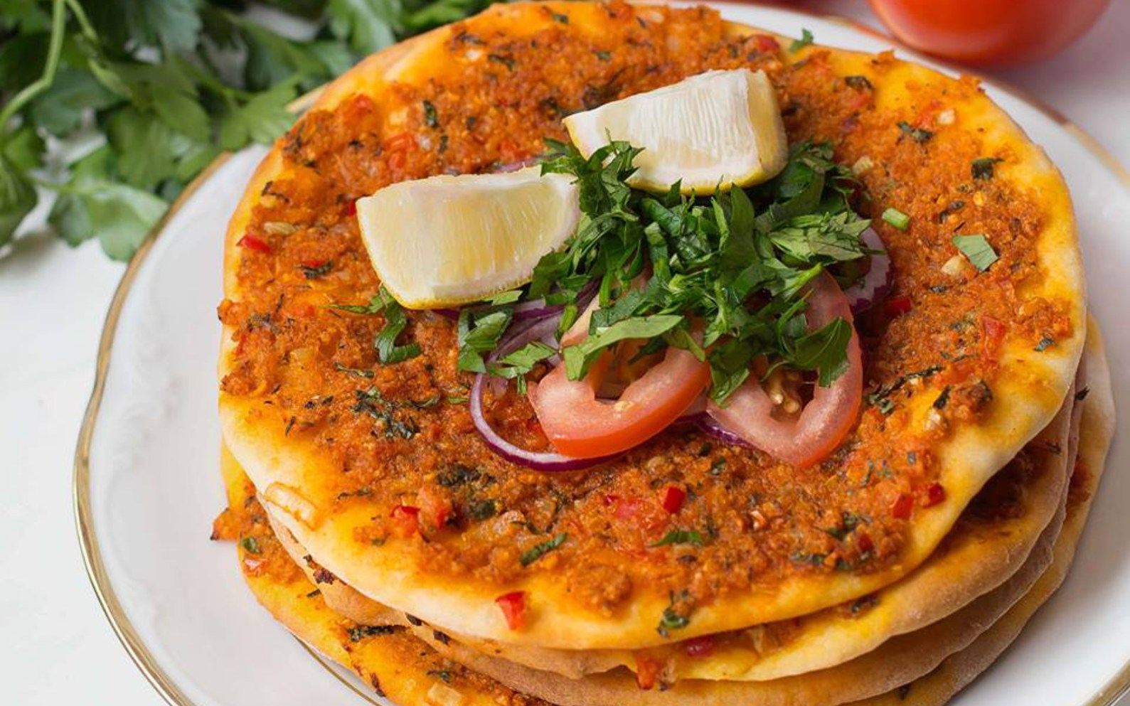 You are going to fall in love with these 10 plant based turkish lahmacun turkish pizza forumfinder Images