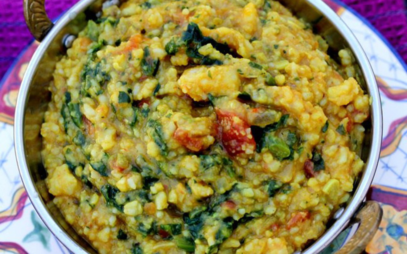 Masala Moong Dal Kitchari