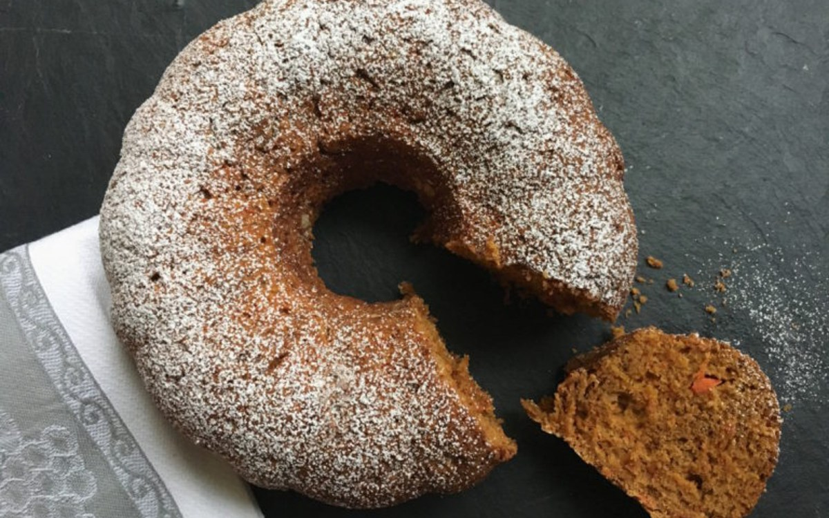 Vegan Greek Carrot Cake