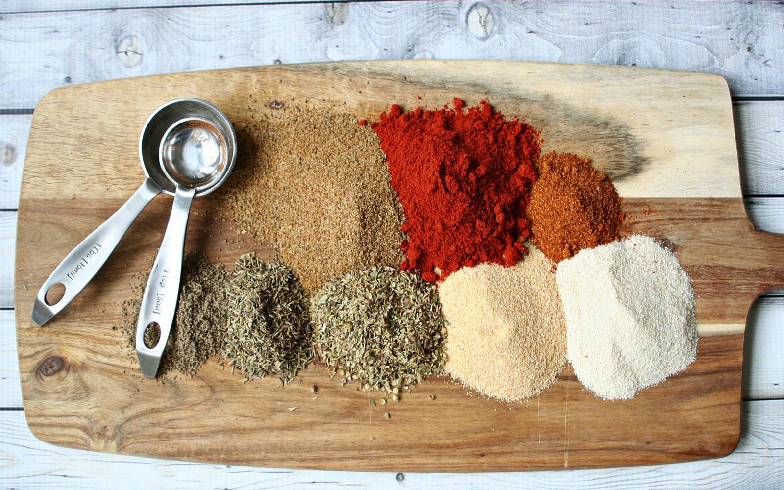 Homemade Cajun Seasoning