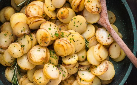 Fast Roasted Potatoes