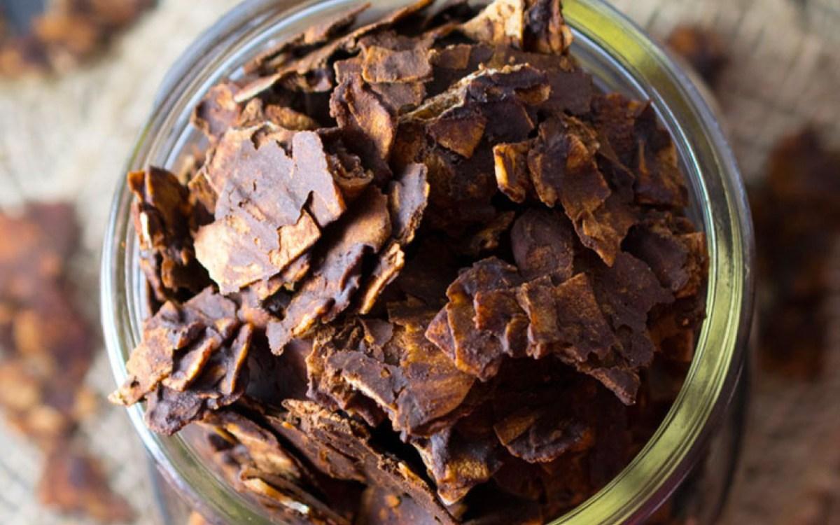 vegan dark chocolate coconut chips