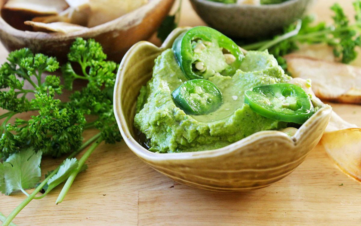 Vegan Fala Jala Hummus
