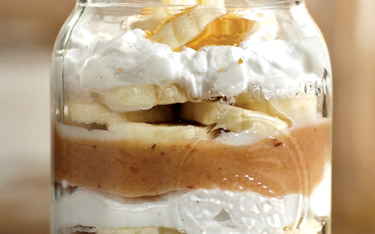 Vegan Banoffee Pie in a Jar
