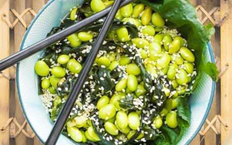 Edamame Seaweed Salad
