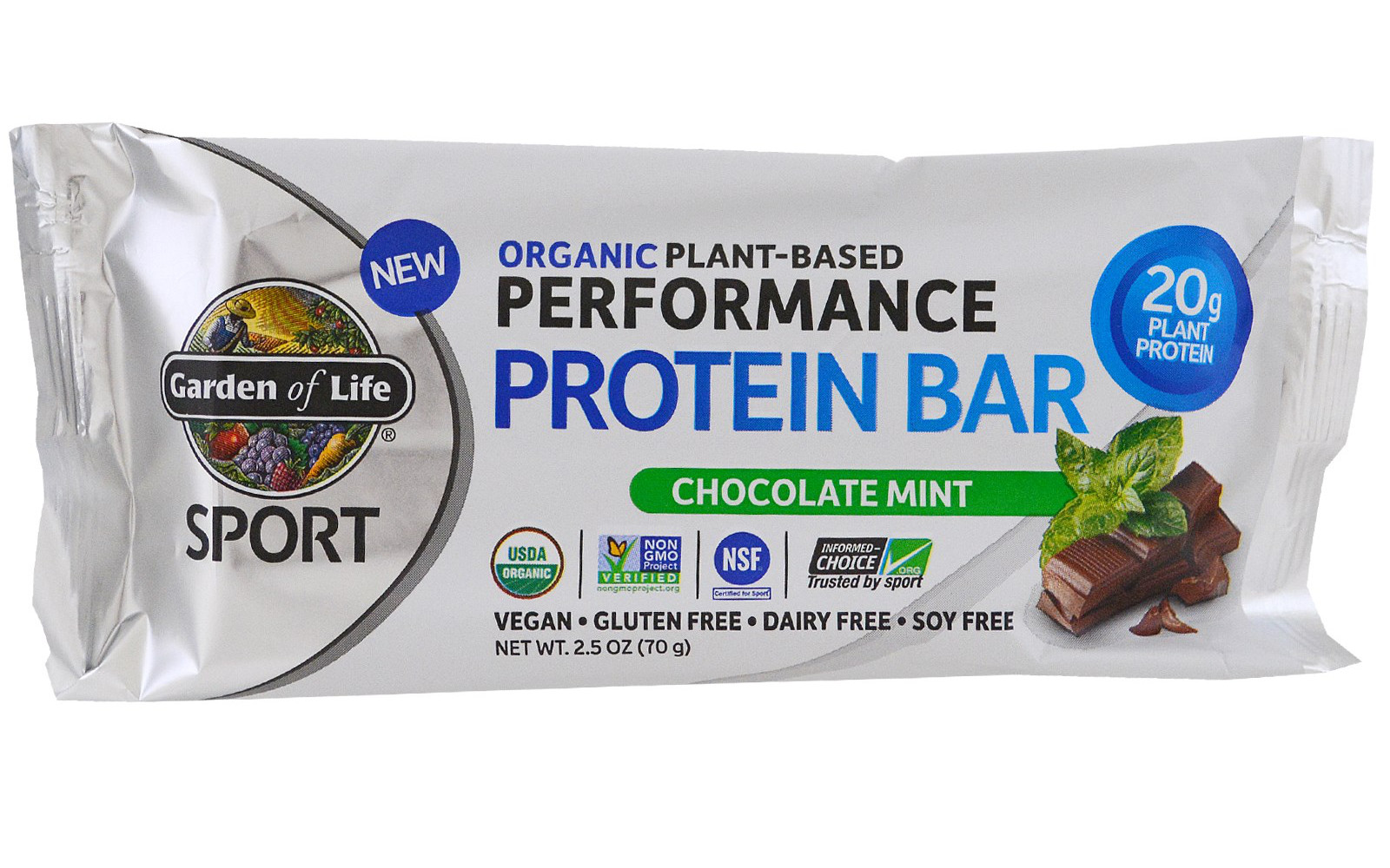 13 vegan protein bars with 15 or more grams of protein Garden of life sport plant based protein