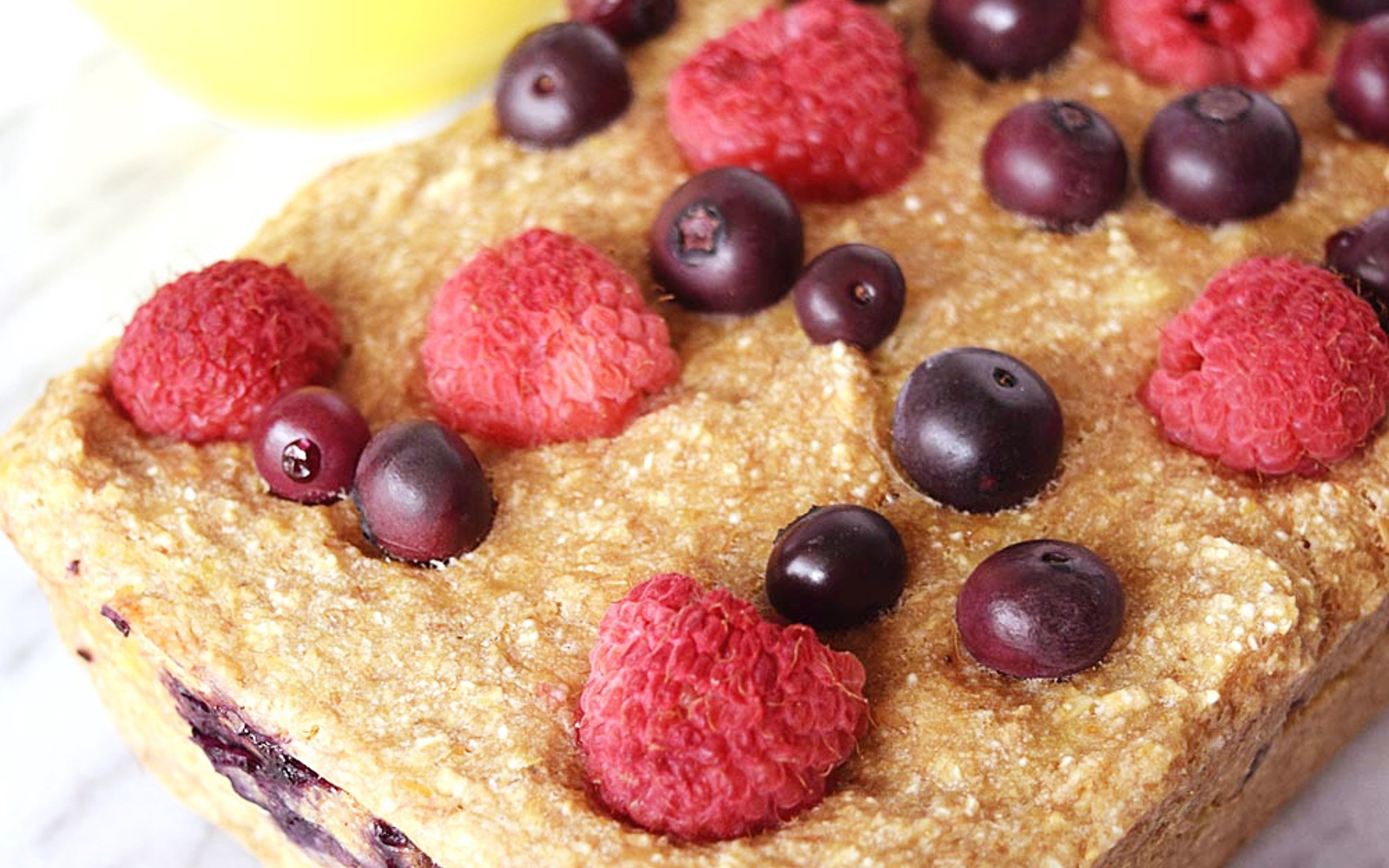 Gluten-Free Vegan Berry Banana Bread