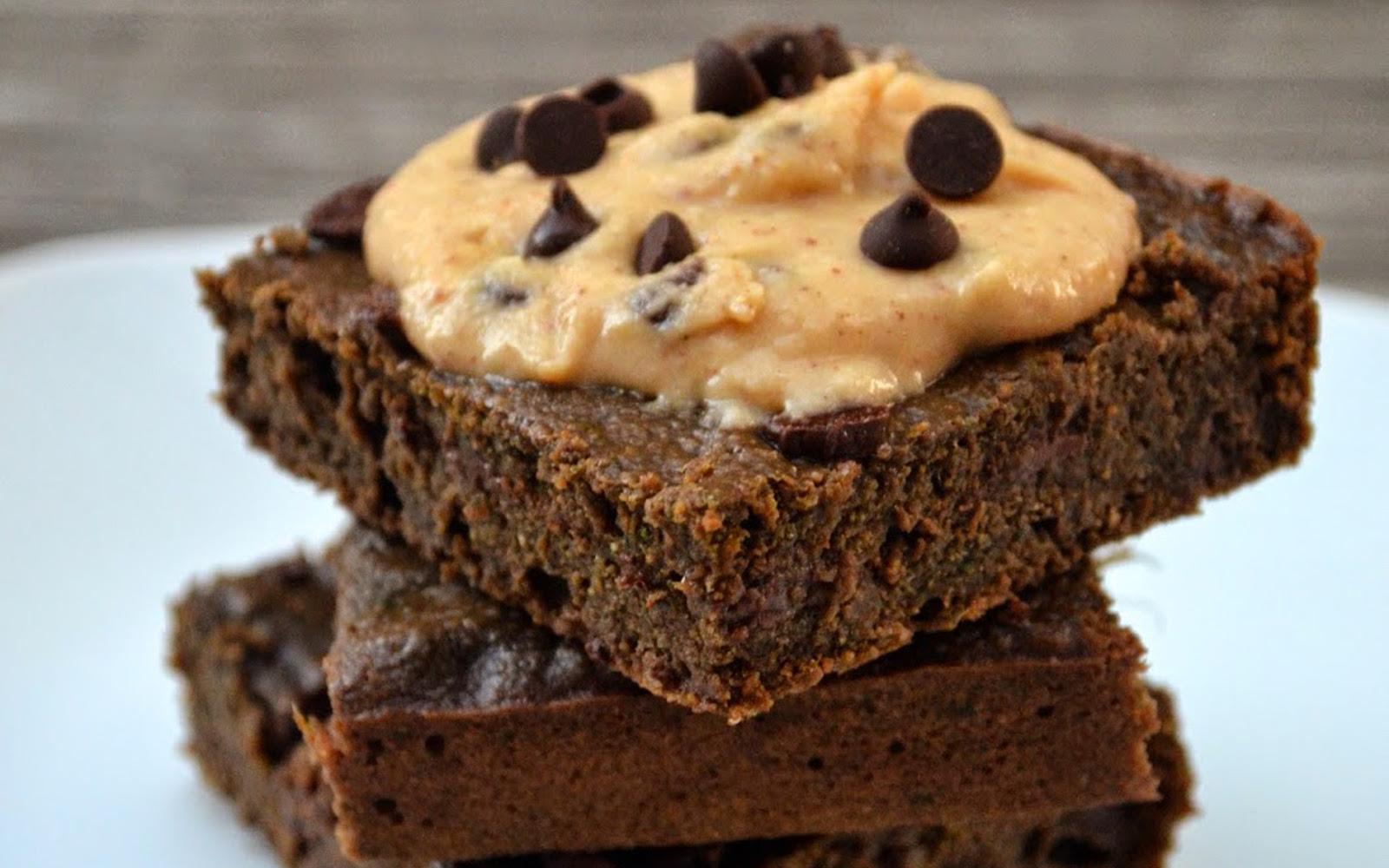Vegan Kale Brownies and Chocolate Chip Cookie Spread