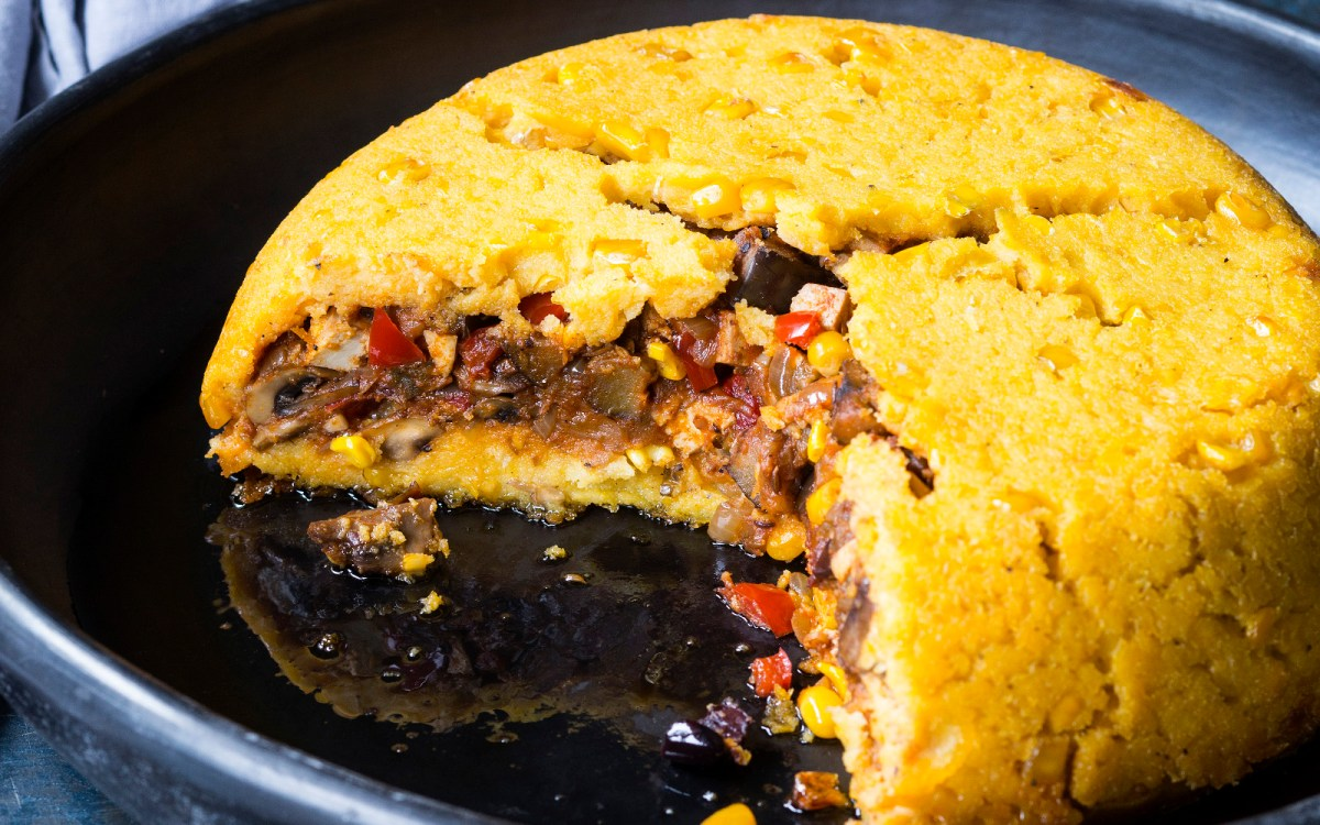 vegan chilean shepherd's pie