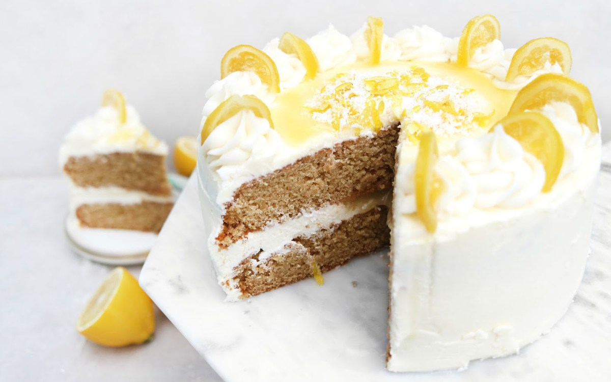 Light Lemon Sponge Cake Recipes: 15 Fluffy And Delicious Dairy-Free Coconut Desserts!