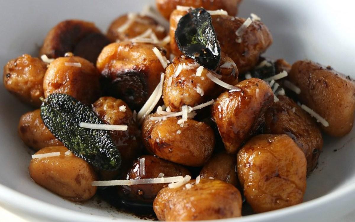 Vegan Sweet Potato Gnocchi With Brown Butter Sage Sauce