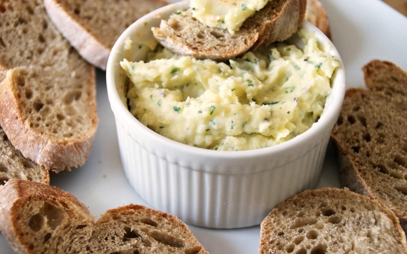 Vegan Potato Onion Cheese Spread