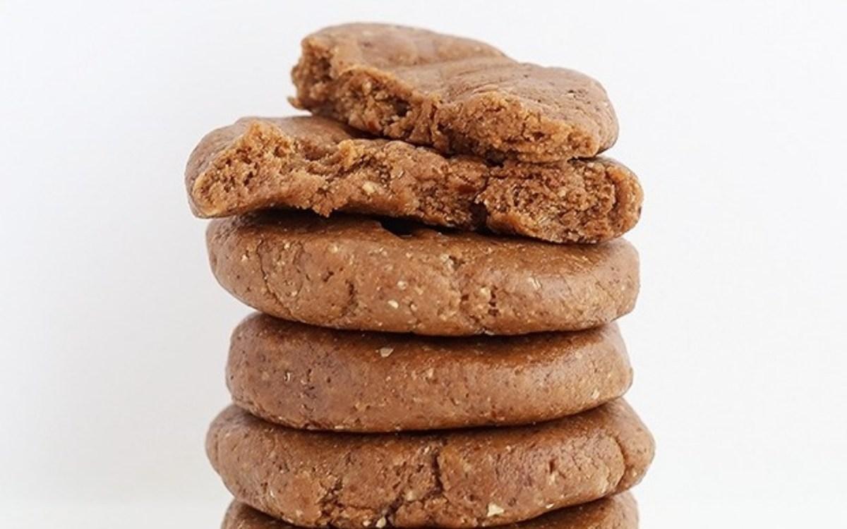 Vegan Flourless Chocolate Almond Butter Protein Cookies