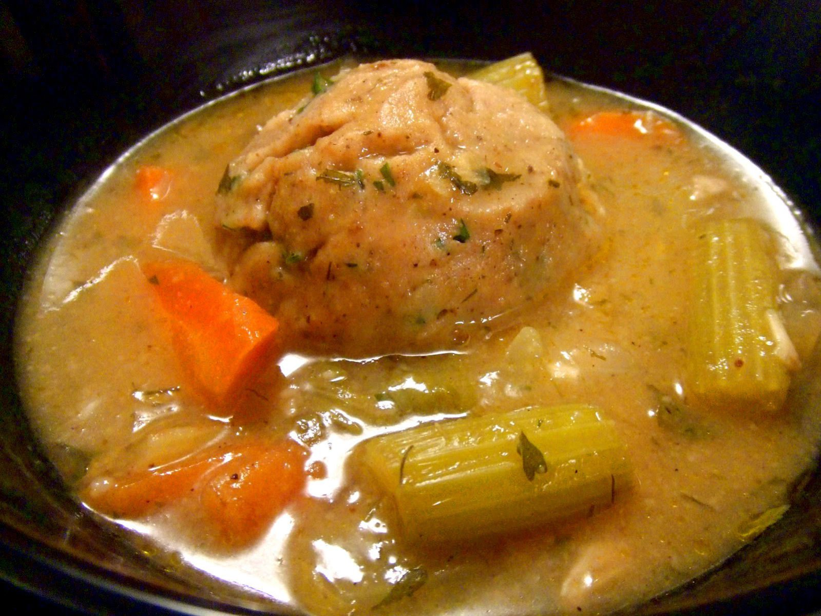 Vegan Matzo Ball Soup
