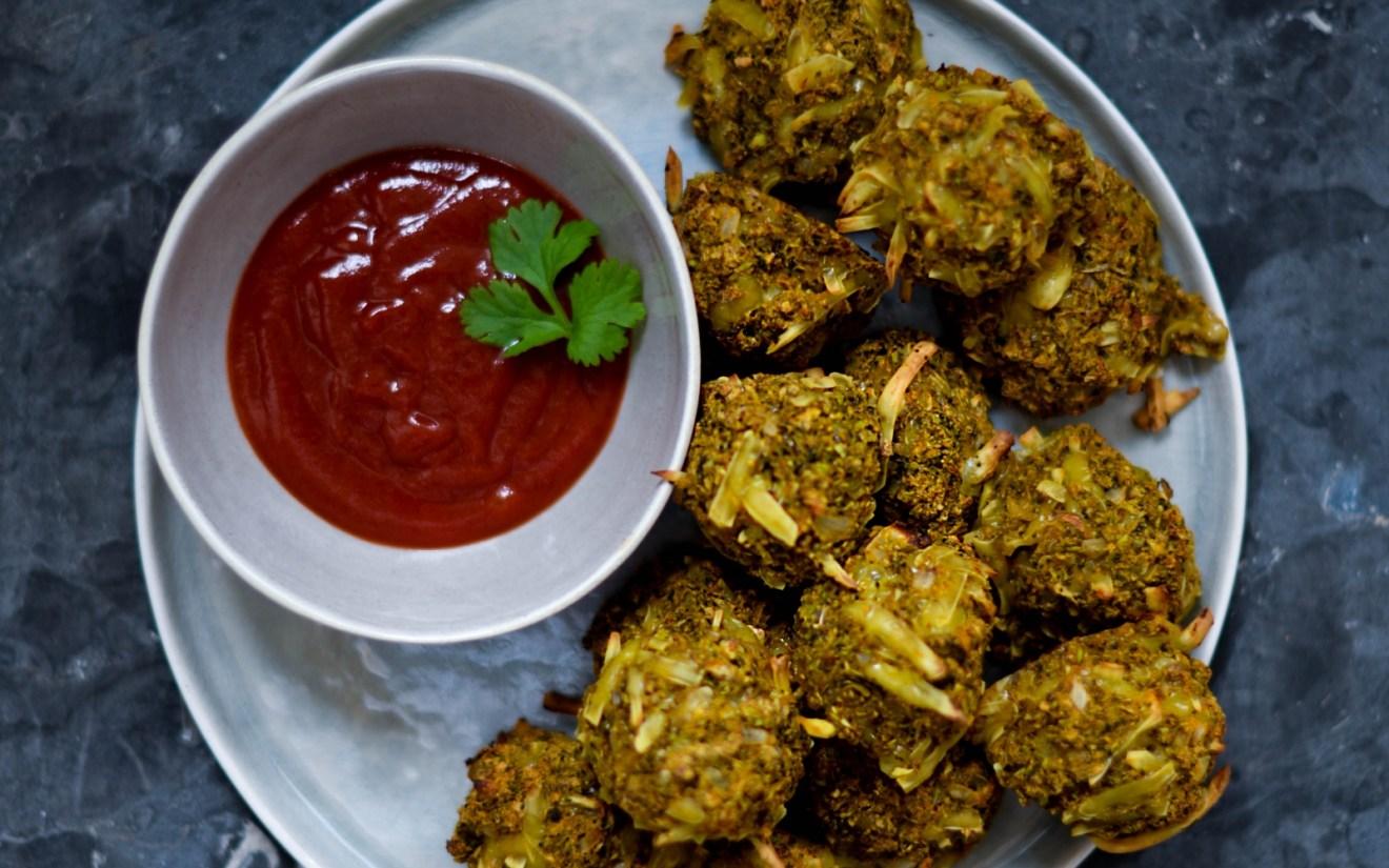 Vegan Crispy and Comforting Broccoli Cheese Tops