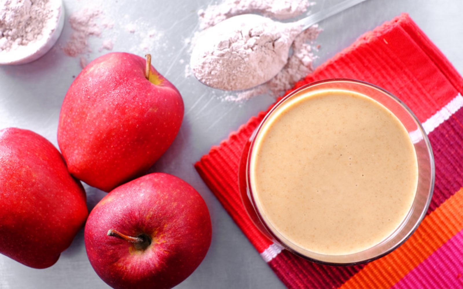 vegan cinnamon apple smoothie