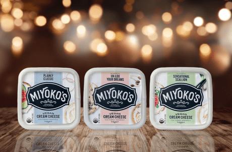 Miyoko's New Cream Cheese Flavors