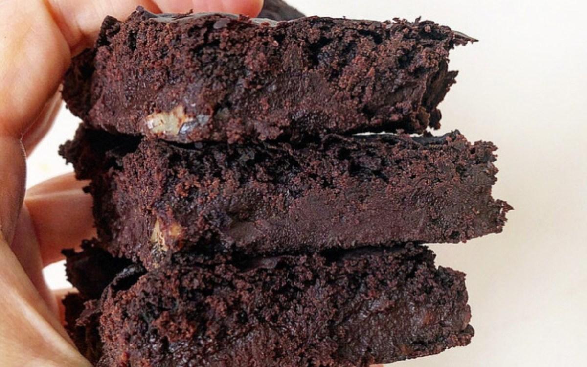 Vegan High-Protein Kidney Bean Brownies