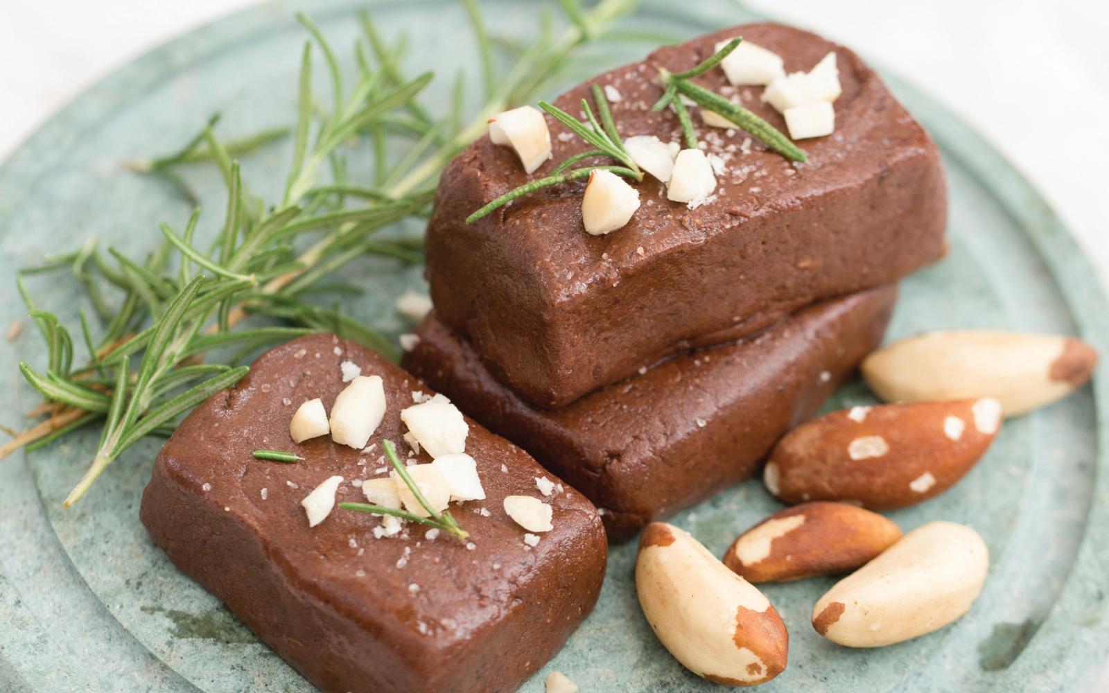 Vegan Brazil Nut Fudge