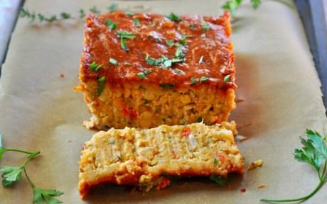 Vegan Meatloaf With Maple Glaze