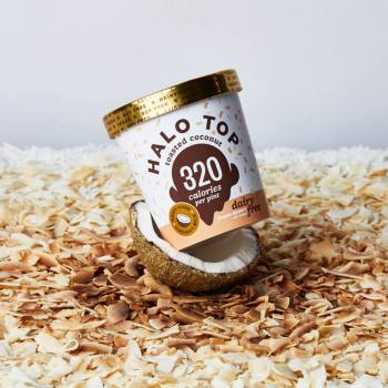 Halo Top Toasted Coconut