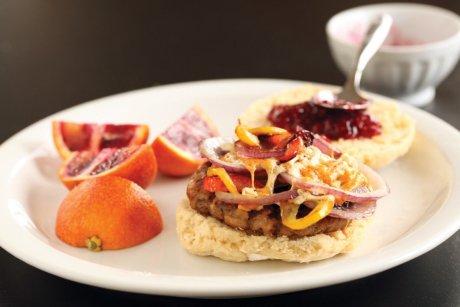 Vegan Breakfast Andouille Sausage With Biscuits