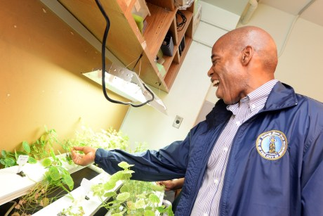 Borough President Eric Adams Plans to Transform Brooklyn and the Nation With Plant-Based Food