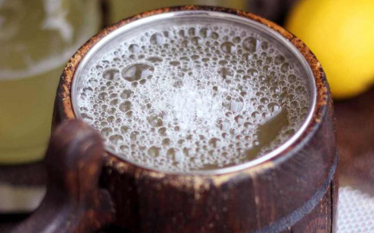 Vegan Homemade Ginger Beer