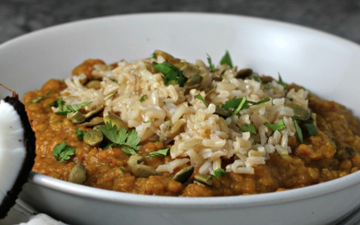 Vegan Spiced Lentil Freezer Meal