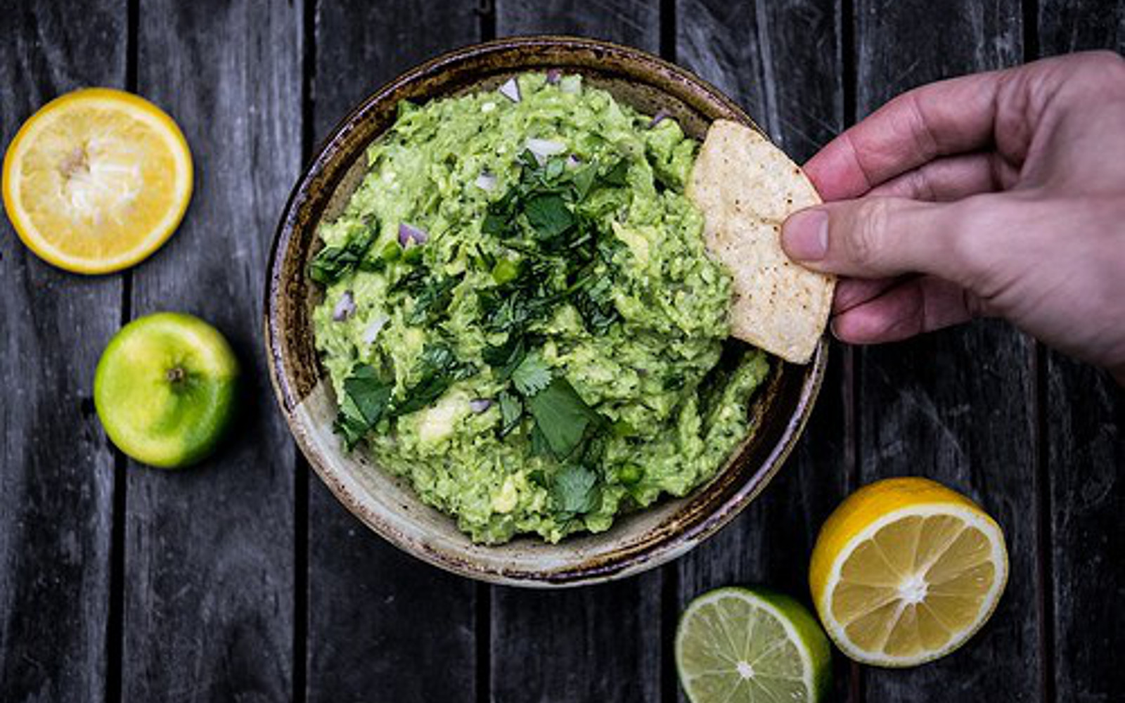 Vegan Gluten-Free Broccamole with lemon and lime