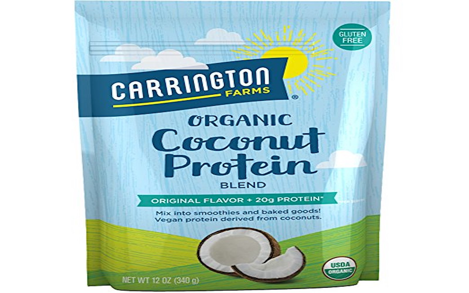 Carrington Farms Organic Coconut Protein