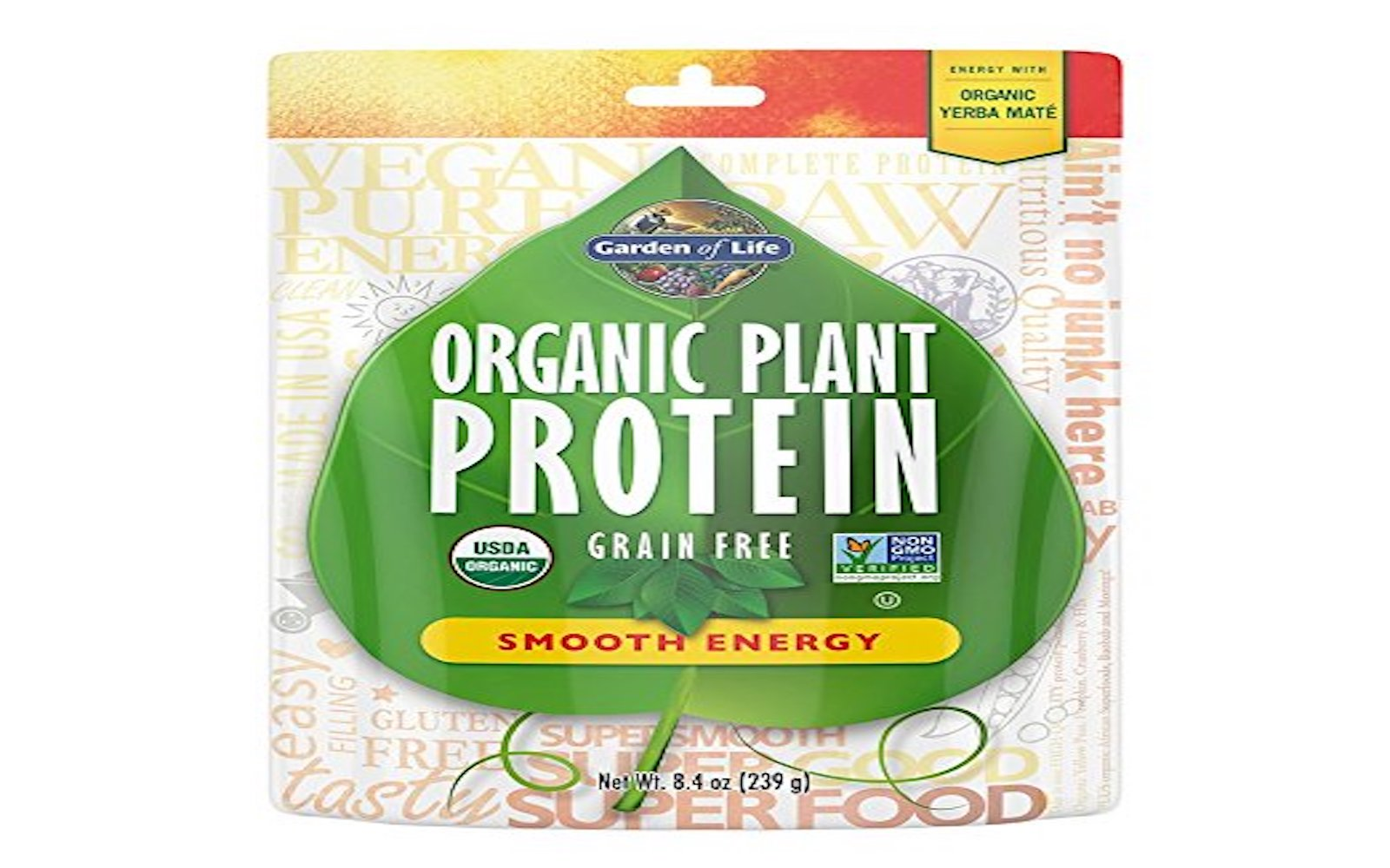 Vegan Plant Based Protein Energy