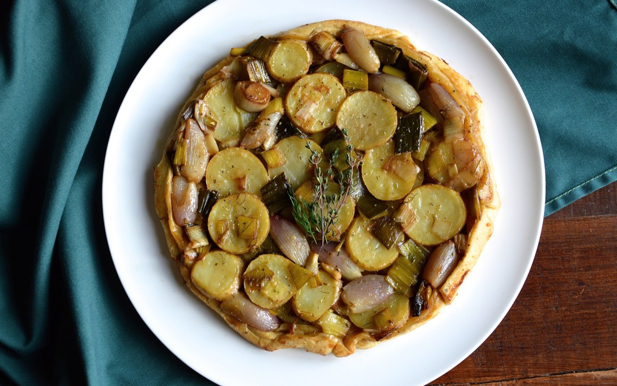 Vegan Irish Potato Pie